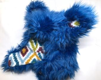 Cobalt Blue Bear