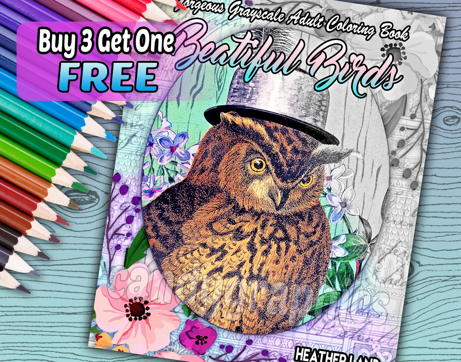 Beautiful Birds - Vintage Beauty Adult Coloring Book - 30 pages - Instant  Download