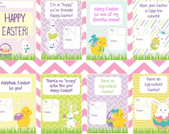 Printable Easter Cards Instant Download