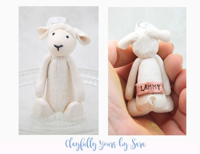 Baby's Favorite Stuffed Animal Replica Ornament  First image 0