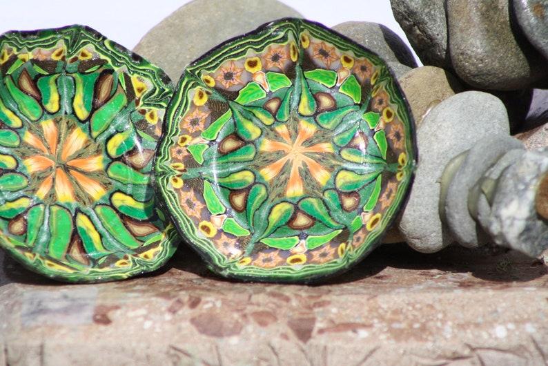 Polymer Clay Ring Dish Set Clay Kaleidoscope