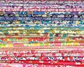 Liberty Fabric Tana Lawn - The Ultimate Scrap Pack - 20 Fabrics