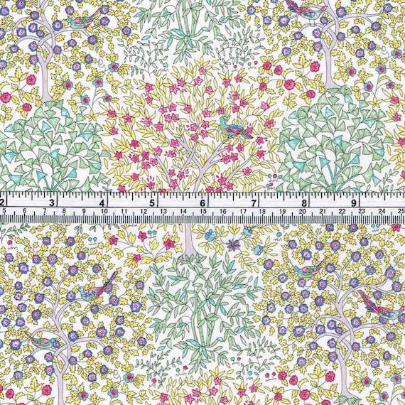 Tela Denim Negro Flores Floral 100/% algodón chaquetas Ropa Jeans Bolsas Crafts