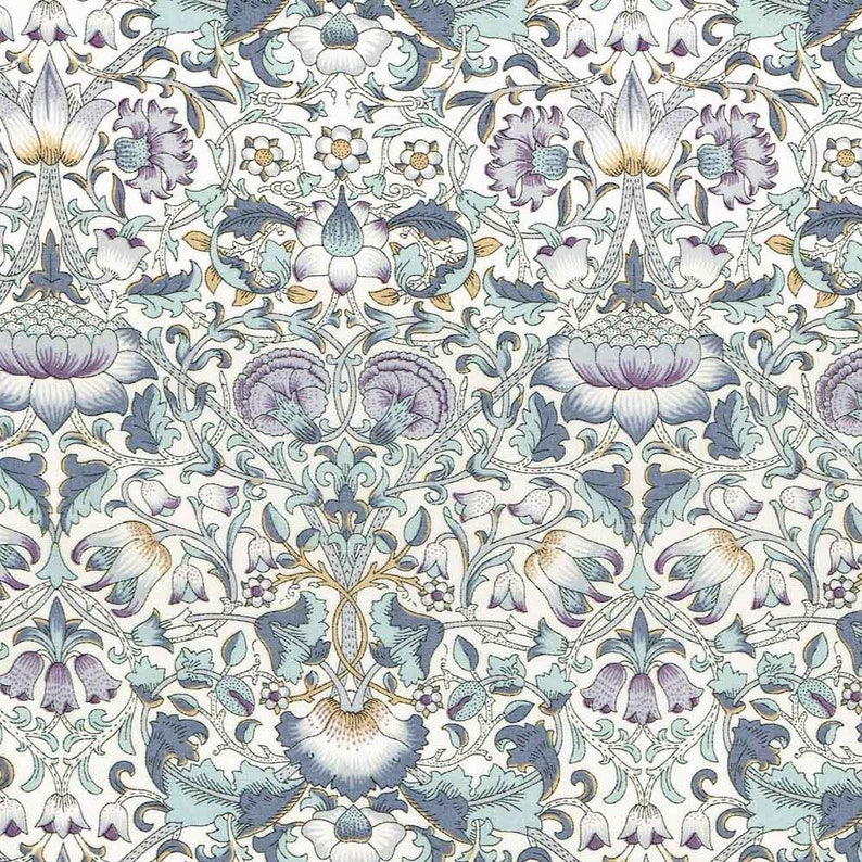 100/% COTTON FABRIC 137cm WIDE CHIVE LIBERTY TANA LAWN