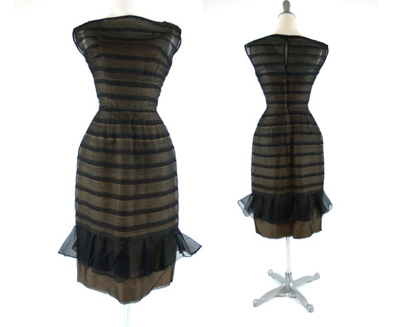 Vintage Will Steinman XS Illusion Bombshell Dress