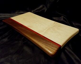 Curvy Maple and Walnut Cutting Board