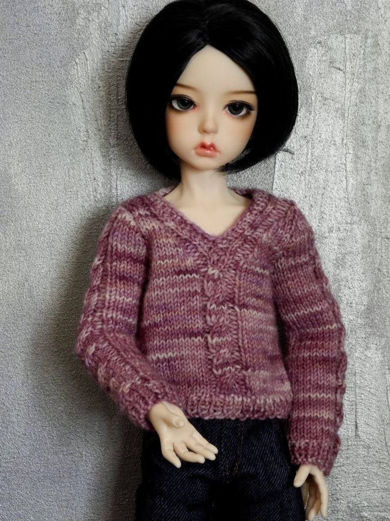 MSD 1/4 BJD sweater Karma Lizard image 0