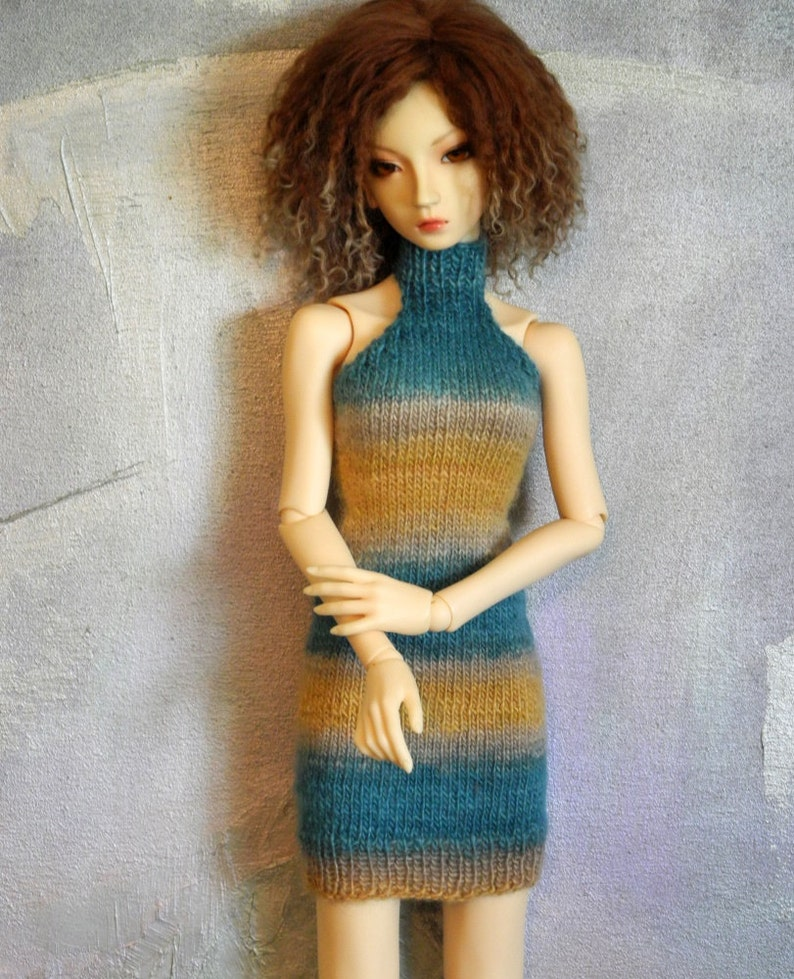 larger SD SD16 BJD sweater dress Riviera image 0