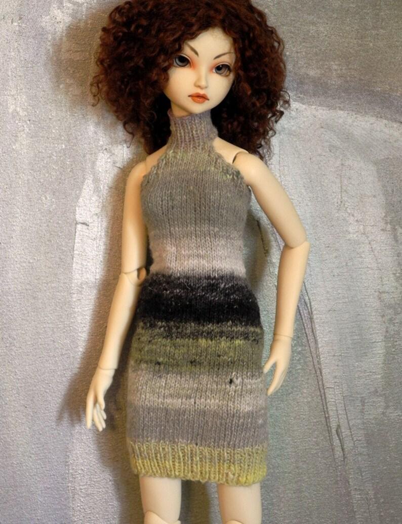SD BJD handknitted dress Ramos Fizz image 0