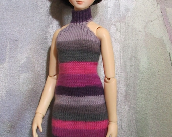 slim SD BJD handknitted dress Club Girl
