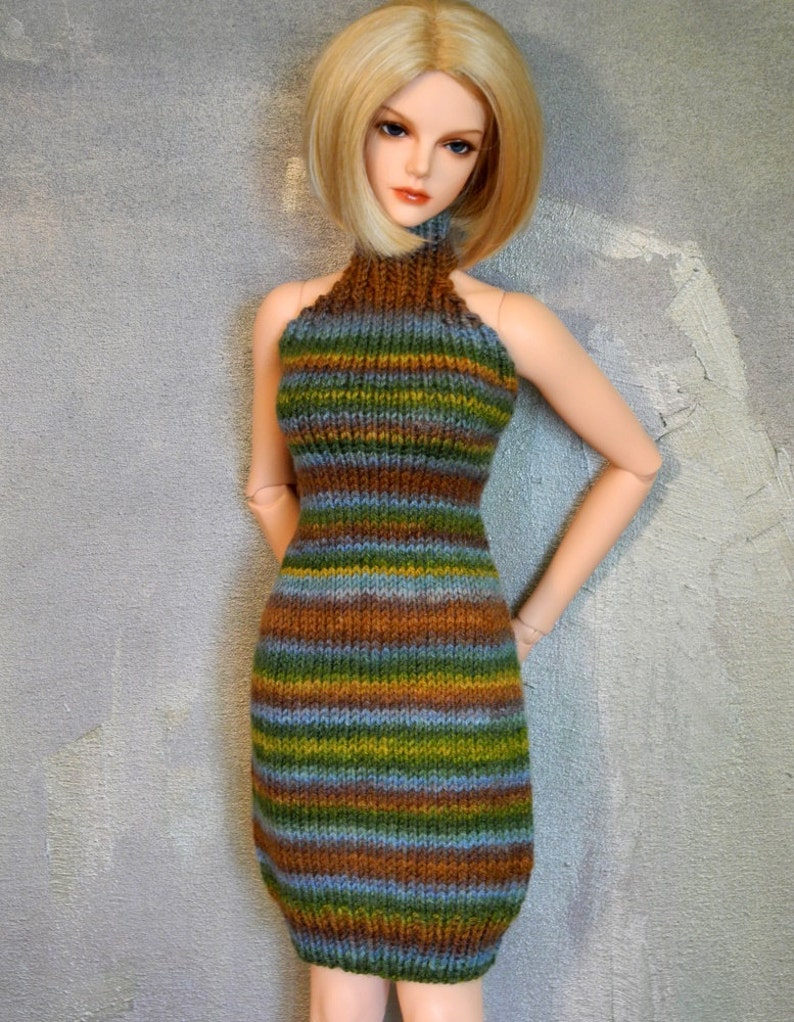 Iplehouse SID or EID handknitted dress Provence image 0
