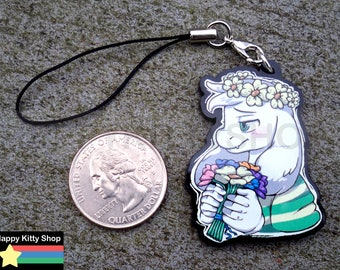 Child Asriel Dreemurr Charm