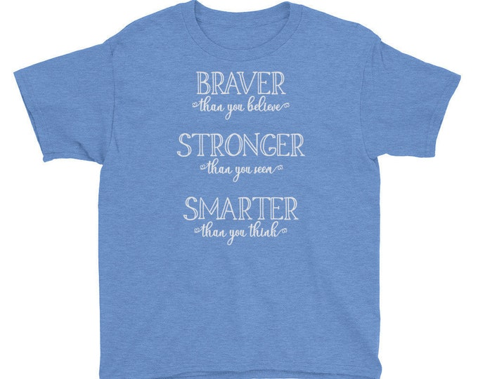 Great Adventure - Pooh Inspired Blue Kids Crew Neck - FREE SHIPPING