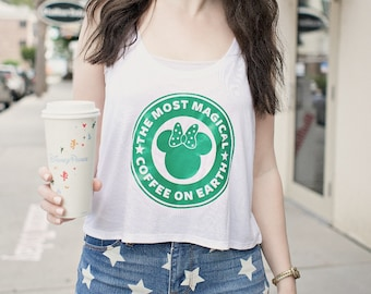 Most Magical Coffee on Earth Shirt - Tank Top