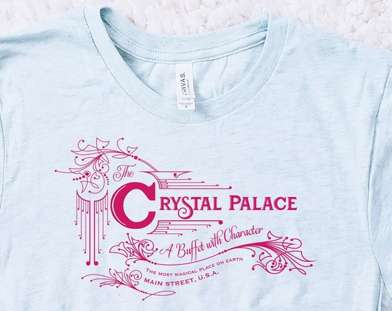 Crystal Palace Magic Kingdom Restaurant Inspired Unisex Shirt - FREE SHIPPING