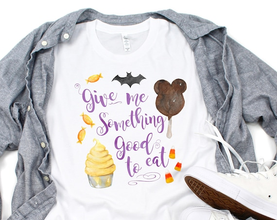Trick or Treat - WHITE Mickey Bar and Dole Whip Inspired Halloween Unisex Crew Neck - FREE SHIPPING