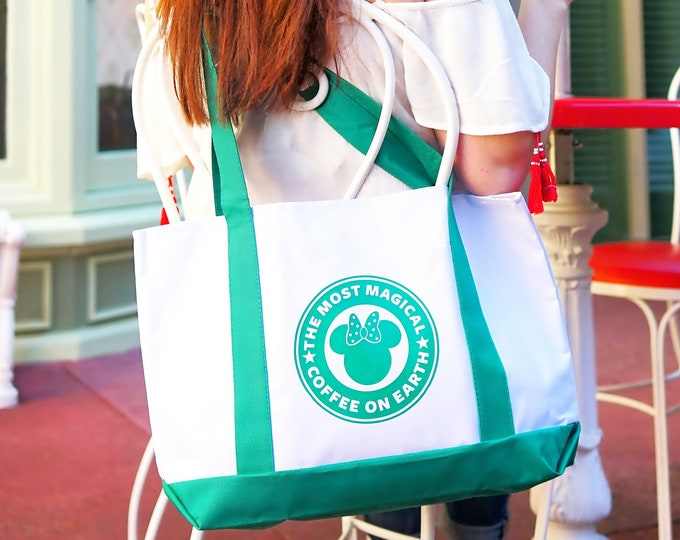 Most Magical Coffee on Earth Boat Tote Signature Bag
