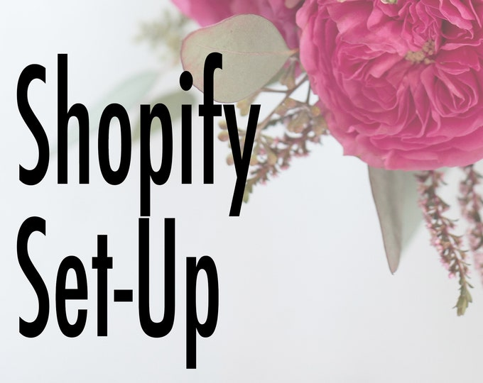 Total Shopify Website Set-Up - Small Business Website Set Up for 20 Product Listings