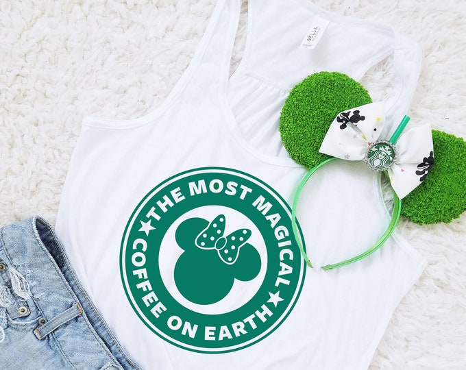 Most Magical Coffee on Earth - Disney and Starbucks Inspired Shirt