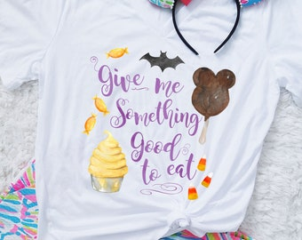 Trick or Treat - Dole Whipe and Mickey Bar Halloween Adult Shirt