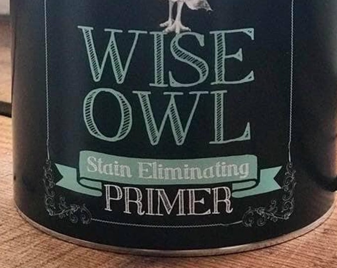 Intro Sale! Wise Owl Chalk Synthesis Paint Stain Eliminating Primer in White or Clear - Free Shipping
