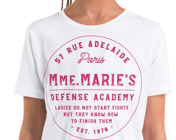 KIDS Mmm. Marie - Martial Arts/Karate Inspired Toddler/Youth Crew Neck - FREE SHIPPING