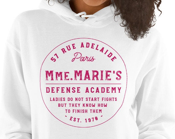 Mmm. Marie Defense Academy Marie Cat Inspired White Sweatshirt