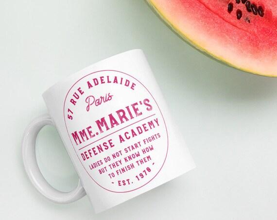 Mmm. Marie Defense Academy Mug - Marie Cat MMA Mug
