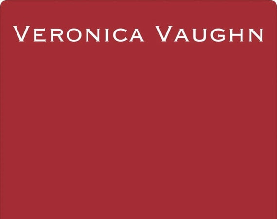 INTRO SALE! Veronica Vaughn (Red) Wise Owl One Hour Enamel Paint - low flat shipping