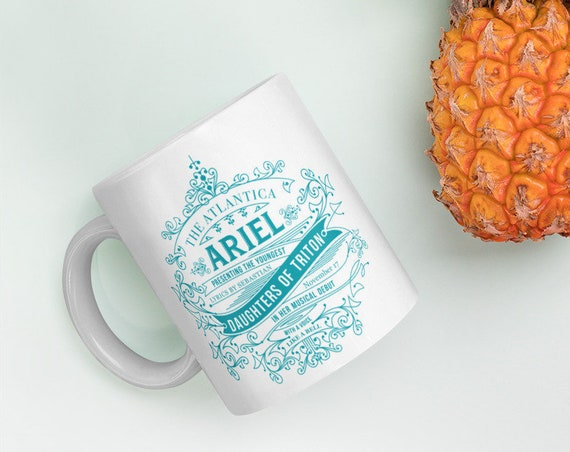 Daughters of Triton - Little Mermaid Ariel Mug