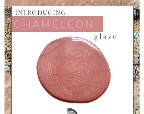 INTRO SALE - Chameleon Duochrome Glaze - Wise Owl Chalk Synthesis Paint - low flat shipping