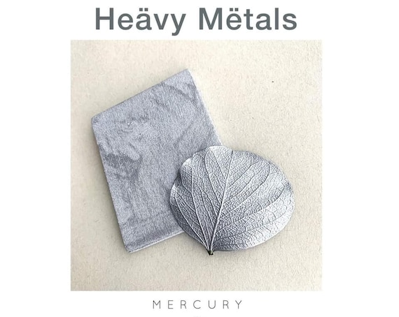 Wise Owl Heavy Metals Metallic Gilding Paint in Silver Mercury