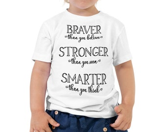 Great Adventure - Pooh Inspired White Toddler/Youth Crew Neck