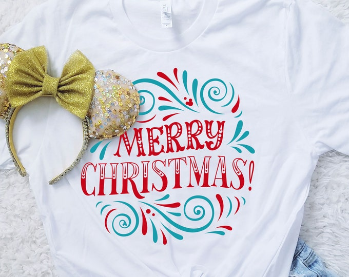 Merry Christmas MVMCP Hidden Mouse Shirt - Unisex and Ladies