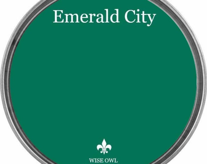 INTRO SALE - Emerald City (Deep Green) - Wise Owl Chalk Synthesis Paint - Free Shipping