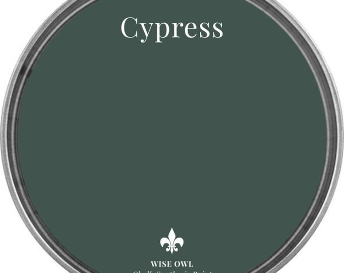 INTRO SALE - Cypress (Hunter Green) - Wise Owl Chalk Synthesis Paint - Free Shipping