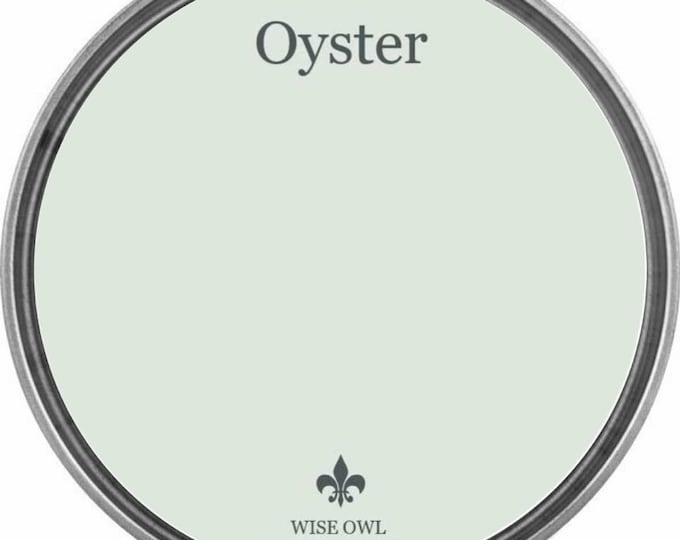 INTRO SALE - Oyster (Warm Gray-Green) - Wise Owl Chalk Synthesis Paint - Free Shipping