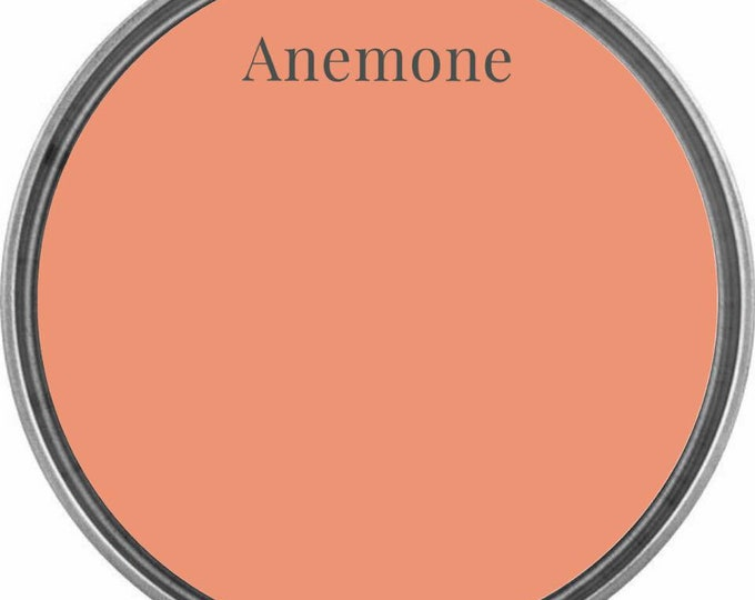 INTRO SALE - Anemone (Peach Coral) - Wise Owl Chalk Synthesis Paint - Limited Edition Spring/Summer 2019 Seasonal Color - Free Shipping