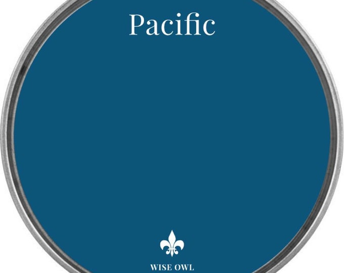 INTRO SALE - Pacific (Royal Blue) - Wise Owl Chalk Synthesis Paint - Free Shipping