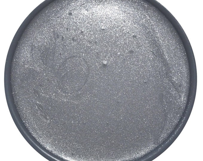 INTRO SALE - Metallic Silver Glaze - Wise Owl Chalk Synthesis Paint - Free Shipping