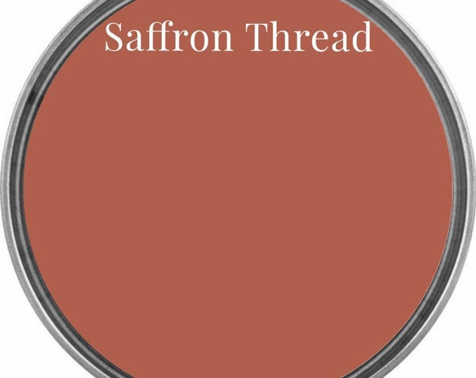 INTRO SALE - Saffron Thread (Terracotta Red Orange) - Wise Owl Chalk Synthesis Paint - Limited Edition Spring/Summer 2019 Seasonal Color