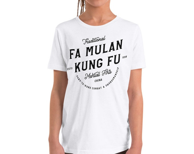 Fa Mulan - Martial Arts/Karate Inspired Toddler/Youth Crew Neck - FREE SHIPPING