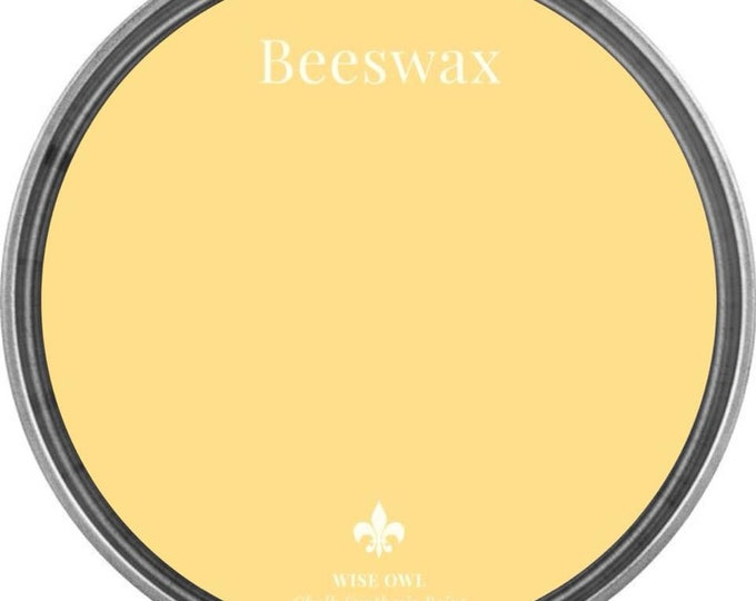INTRO SALE - Beeswax (Yellow) - Wise Owl Chalk Synthesis Paint - Free Shipping