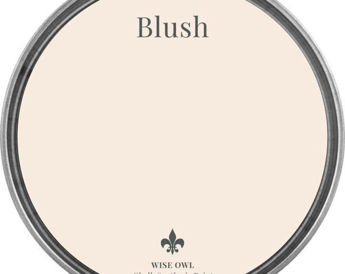 INTRO SALE - Blush (Light Pink) - Wise Owl Chalk Synthesis Paint - Free Shipping