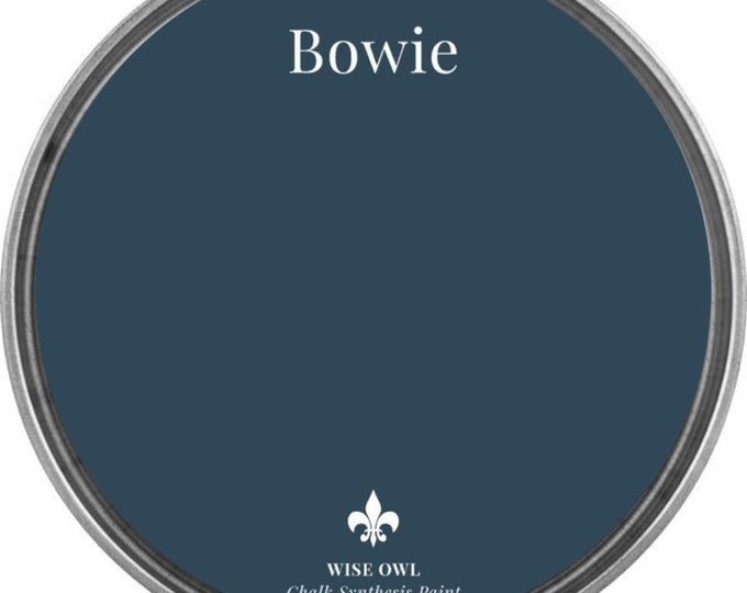 INTRO SALE - Bowie (Peacock Navy Blue) - Wise Owl Chalk Synthesis Paint - Free Shipping
