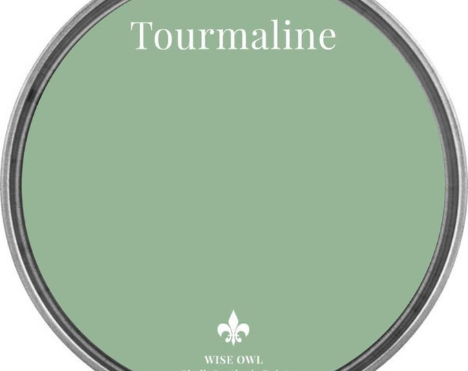 INTRO SALE - Tourmaline (Light Vintage Green) - Wise Owl Chalk Synthesis Paint - Free Shipping