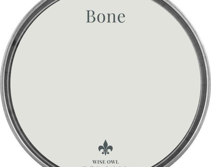 INTRO SALE - Bone (Light Gray) - Wise Owl Chalk Synthesis Paint - Free Shipping
