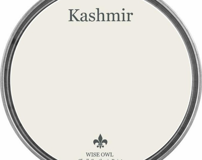 INTRO SALE - Kashmir (Soft Neutral Cream) - Wise Owl Chalk Synthesis Paint - Free Shipping