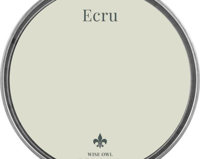 INTRO SALE - Ecru (Antique White) - Wise Owl Chalk Synthesis Paint - Free Shipping