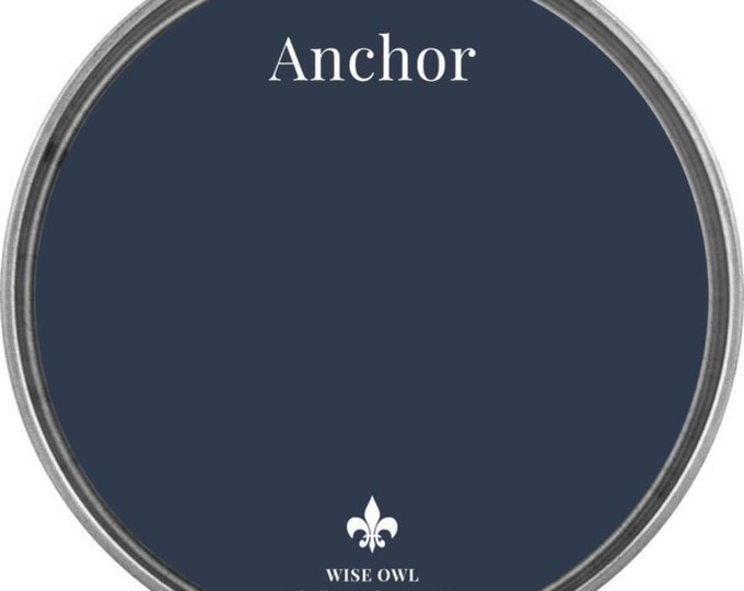 INTRO SALE - Anchor (Navy) - Wise Owl Chalk Synthesis Paint - Free Shipping